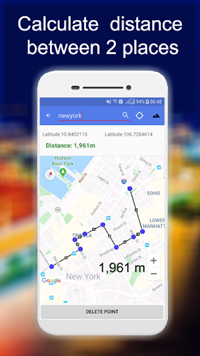 Distance And Area Measurement screenshot 2