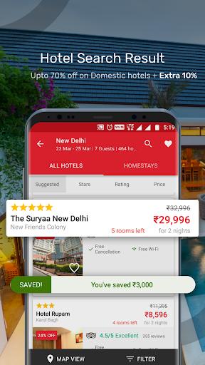 Yatra - Flights, Hotels, Bus, Trains & Cabs 4 تصوير الشاشة