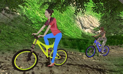 MTB انحدار بي إم إكس دراجه هوائية حيلة المتسابق 4 تصوير الشاشة