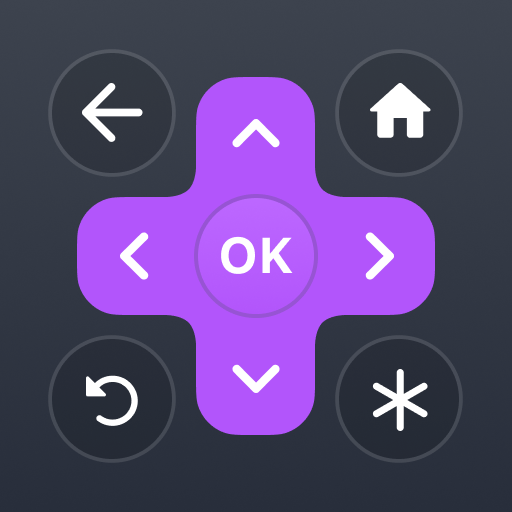 Roku Remote Control: RoByte أيقونة