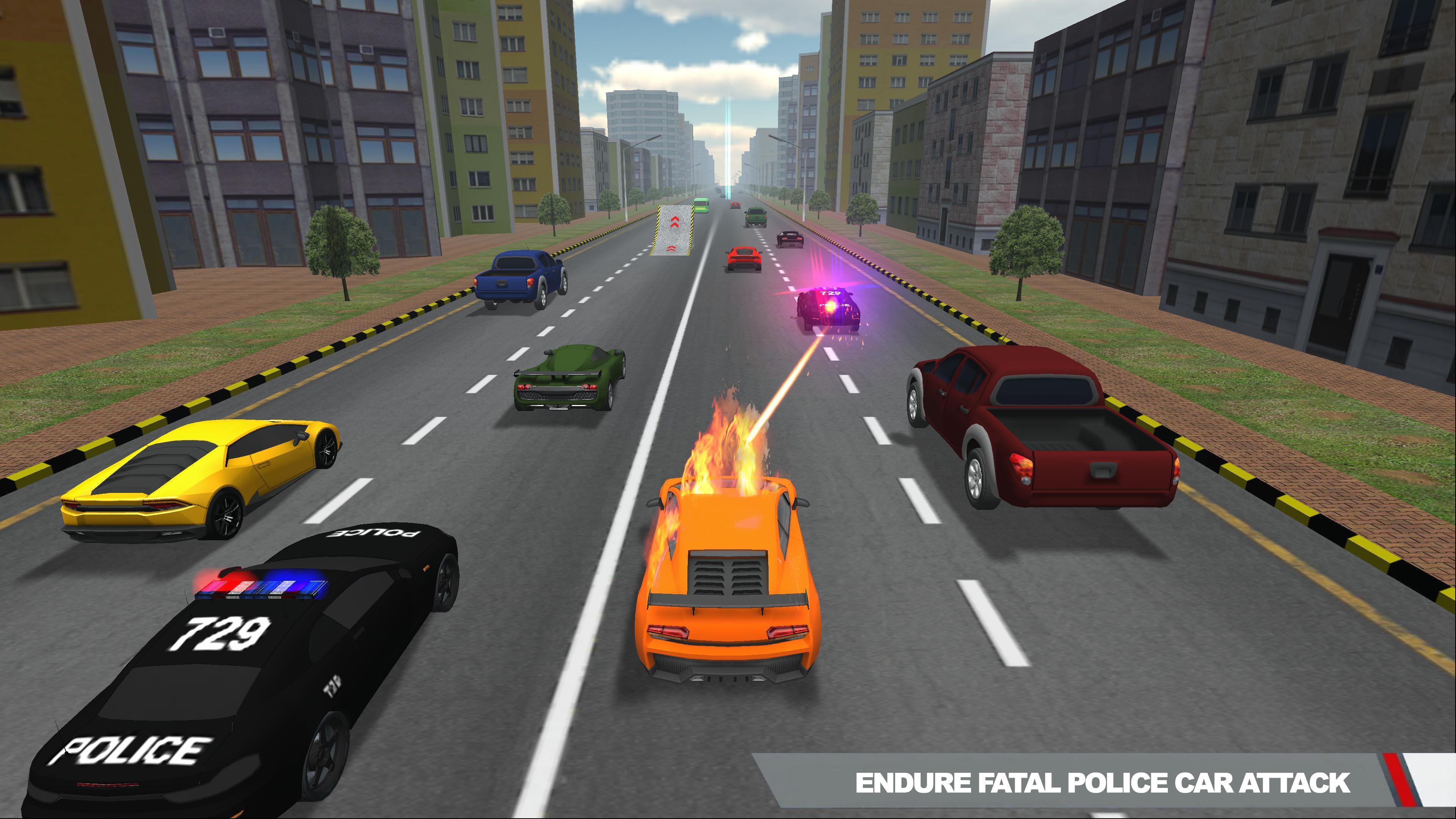 Police Pursuit Highway 3 تصوير الشاشة