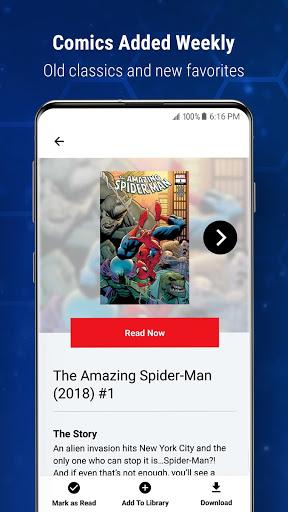 Marvel Unlimited 6 تصوير الشاشة