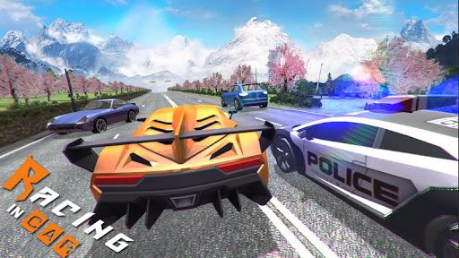 Racing In Car 3D 3 تصوير الشاشة