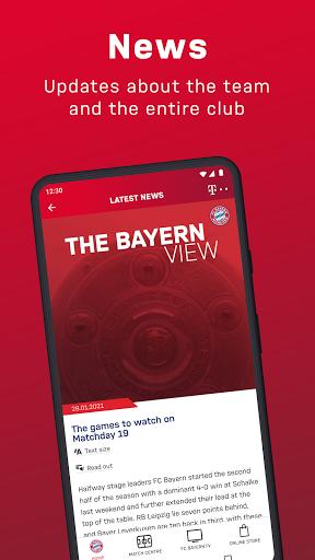 FC Bayern München - football news & live scores 3 تصوير الشاشة