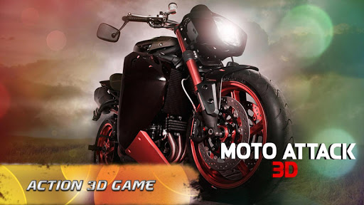 Moto Attack 3D Bike Race 2016 screenshot 2