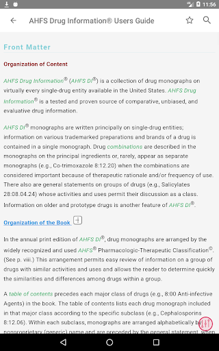 AHFS Drug Information (2020) screenshot 8