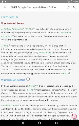AHFS Drug Information (2020) 8 تصوير الشاشة