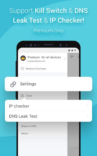 X-VPN - Free Private VPN Proxy screenshot 3