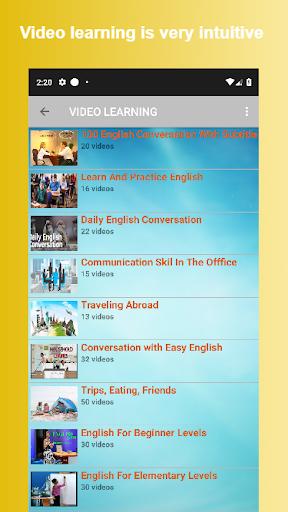 English Conversation 6 تصوير الشاشة