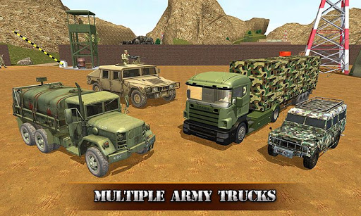 US OffRoad Army Truck driver 2020 screenshot 2