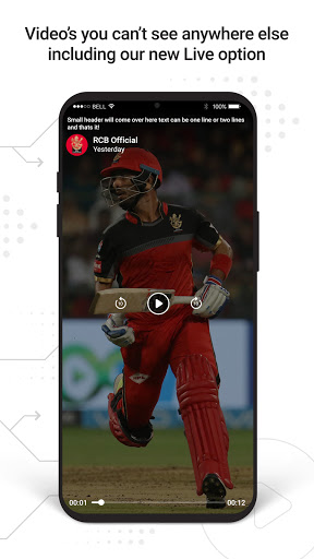 RCB Official- Live Cricket Scores screenshot 8