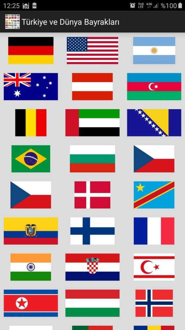 Türkiye ve Dünya Bayrakları screenshot 2