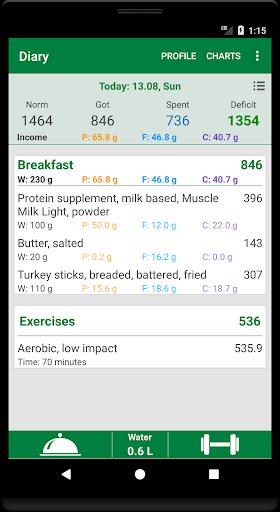 Calorie Count screenshot 1