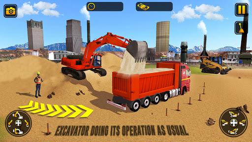 City Construction Simulator: Forklift Truck Game screenshot 7