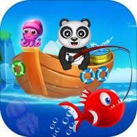 Happy Fisher Panda: Ultimate Fishing Mania Games on APKTom