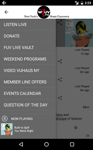 WFUV 5 تصوير الشاشة
