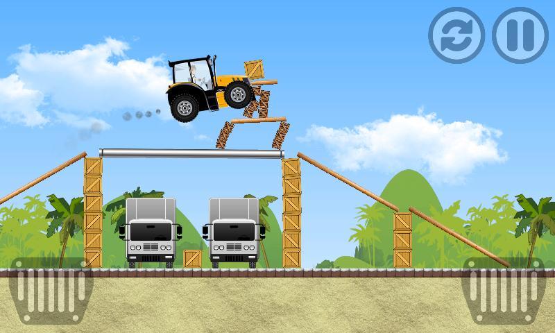 Tractor Farm Power Racing 1 تصوير الشاشة