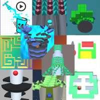 10+ in 1:Free Arcade Games Offline icon