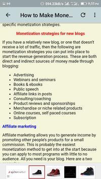 Blogging Guide screenshot 6