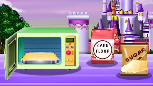 Princesses Cake Cooking 4 تصوير الشاشة