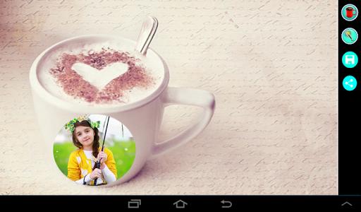 Coffee Cup Photo Frame 12 تصوير الشاشة