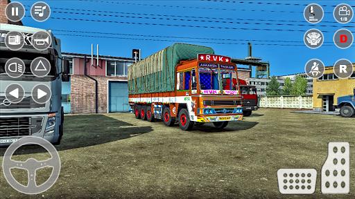 भारतीय कार्गो ट्रक चालक सिम 2k20: शीर्ष नए गेम स्क्रीनशॉट 1
