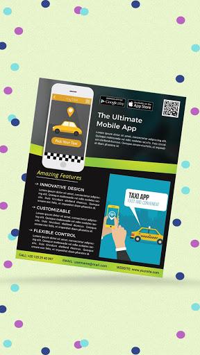 Flyers, Poster Maker, Graphic Design, Banner Maker 8 تصوير الشاشة
