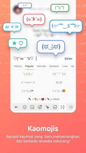 Facemoji Emoji Keyboard-Emoji Lucu,Stiker,Tema,GIF screenshot 8