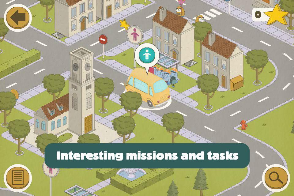 Busy Wheels: City Bus screenshot 1