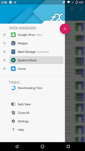 FX File Explorer: the file manager with privacy 3 تصوير الشاشة