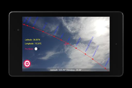Satellite Pointer स्क्रीनशॉट 9