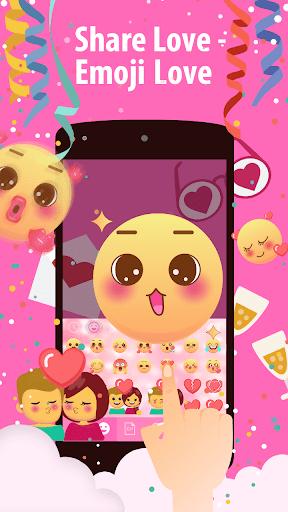 Emoji Love Stickers for Chatting Apps(Add Sticker) 5 تصوير الشاشة