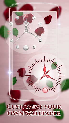 Rose Clock Live Wallpaper screenshot 5
