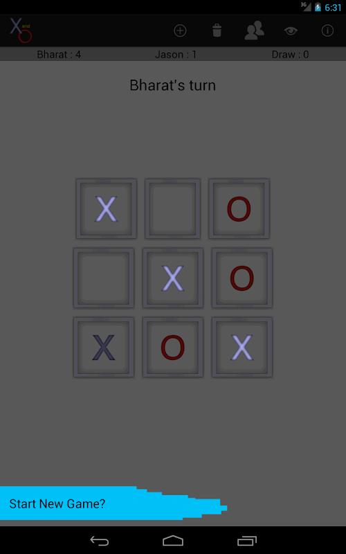 X and O screenshot 12