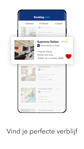 Booking.com Hotelreserveringen screenshot 2
