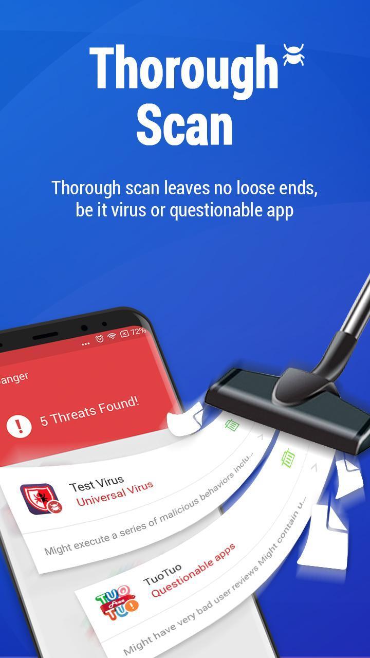 Antivirus Free - Virus Cleaner, Keep phone safe screenshot 2