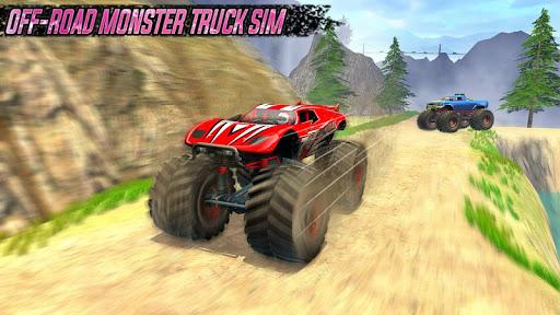 Impossible Monster Truck: race & Stunts 3D screenshot 2