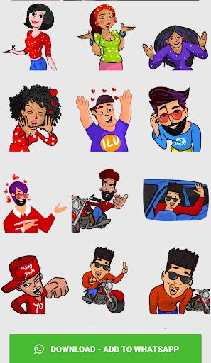 Stickers For WhatsApp ( WAStickerApps ) screenshot 4