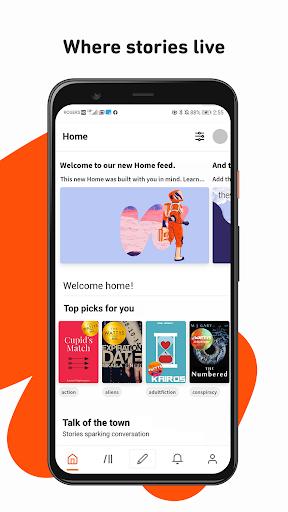 Wattpad - Read & Write Stories screenshot 1