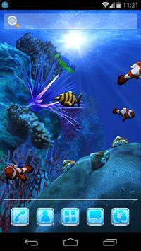 UR 3D Ocean Dolphin Shark HD screenshot 4