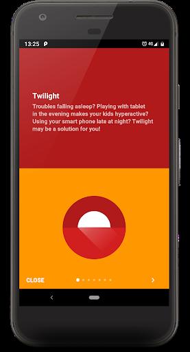 Twilight 🌅 Blue light filter for better sleep 3 تصوير الشاشة