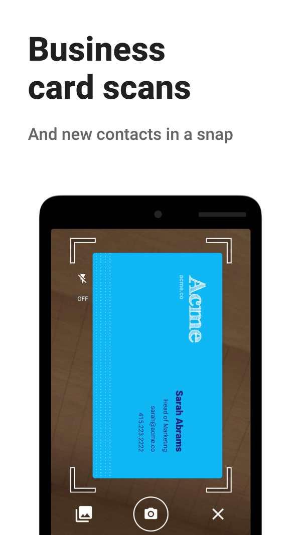 Contacts+ скриншот 7