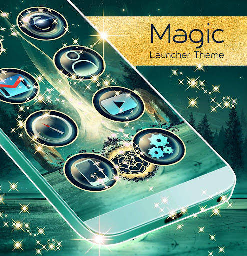 Magic Launcher Theme screenshot 4