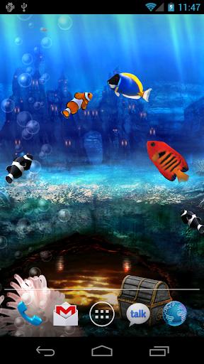 Aquarium Free Live Wallpaper screenshot 6
