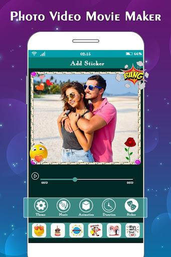 Photo to Video Maker with Music : Slideshow Maker 6 تصوير الشاشة