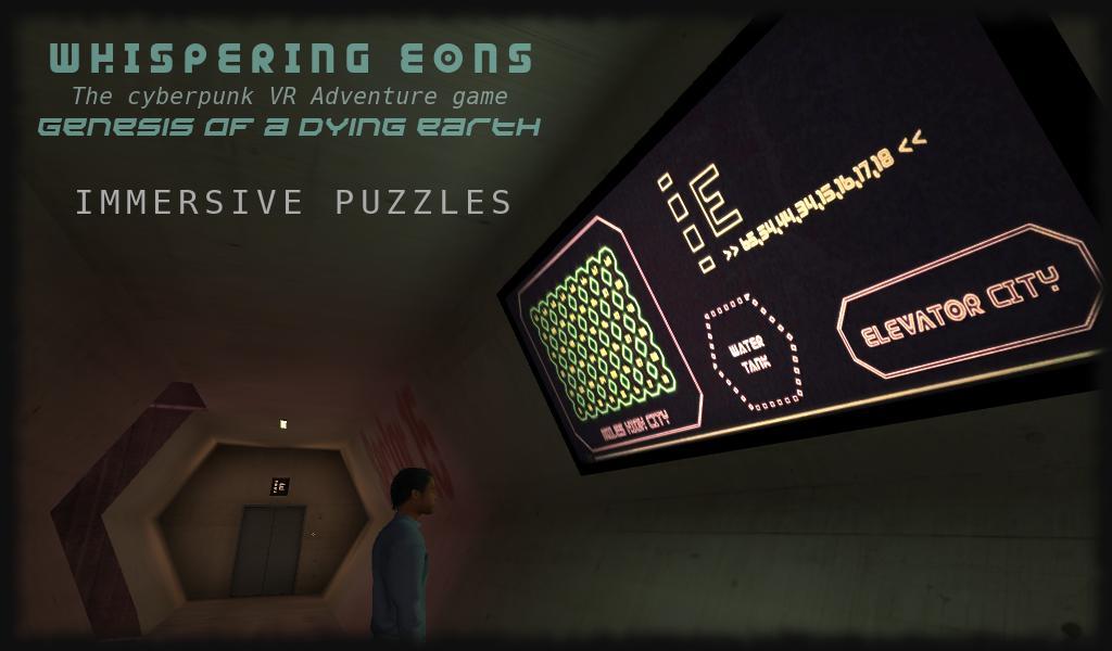 Whispering Eons #0 (VR Cardboard adventure game) 3 تصوير الشاشة