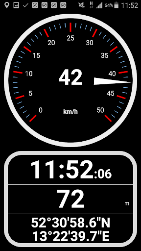 Speedometer analog, digital with odometer and HUD screenshot 2