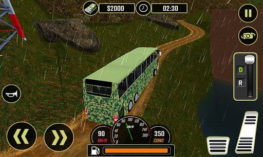 Army Bus Driver 2021:Real Military Coach Simulator screenshot 2