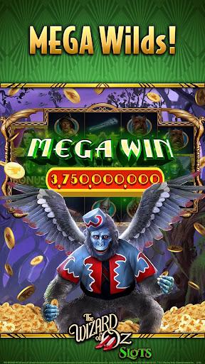 Wizard of OZ Free Slots Casino Games 2 تصوير الشاشة