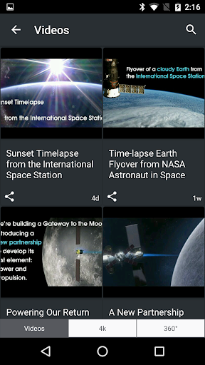 NASA screenshot 4